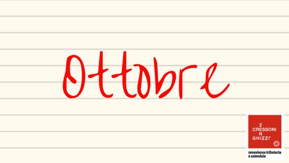 OTTOBRE 2019