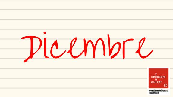 DICEMBRE 2019